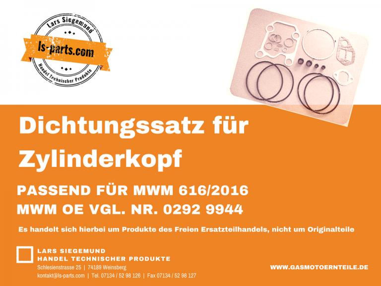 Dichtungssatz Zylinderkopf passend für MWM